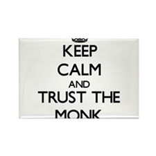 Keep Calm and Trust the Monk Magnets