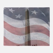 Washington Monument Throw Blanket