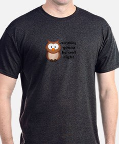 Everything Gonna Be Owl Right T-Shirt