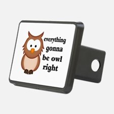 Everything Gonna Be Owl Ri Hitch Cover