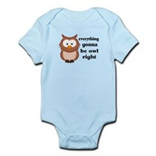 Everything Gonna Be Owl Right Infant Bodysuit