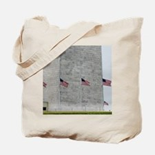 Base of Washington Monument Tote Bag