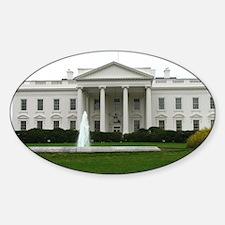 White House Sticker (Oval)