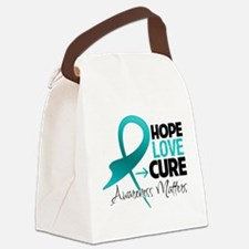 PKD Hope Canvas Lunch Bag