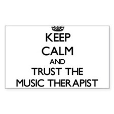 Keep Calm and Trust the Music Therapist Decal