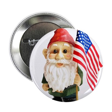 "Gnome USA (nw) 2.25"" Button (10 pack)"