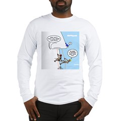 Pick Your Nose Long Sleeve T-Shirt