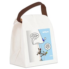 Pick Your Nose Canvas Lunch Bag