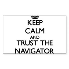 Keep Calm and Trust the Navigator Decal