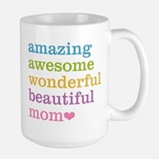 Amazing Mom Large Mug