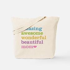 Amazing Mom Tote Bag