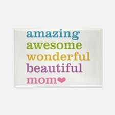 Amazing Mom Rectangle Magnet (10 pack)