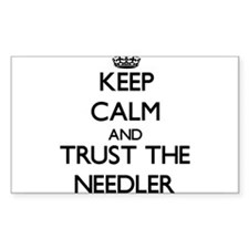 Keep Calm and Trust the Needler Decal