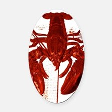 Lobstah Series-5 Oval Car Magnet