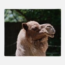 Arab Camel Throw Blanket