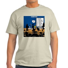 Robot Graduation Light T-Shirt