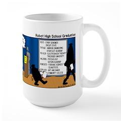 Robot Graduation Mug