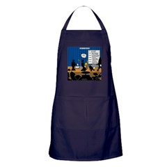 Robot Graduation Apron (dark)