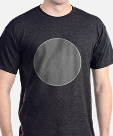 Embossed Dragon Trinity Knot Coin T-Shirt