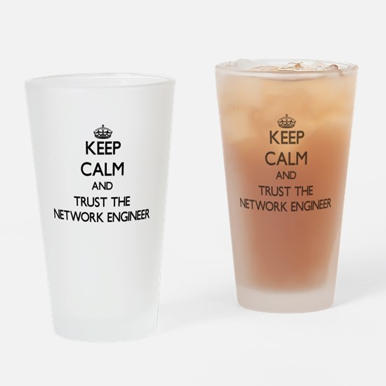 Keep Calm and Trust the Network Engineer Drinking