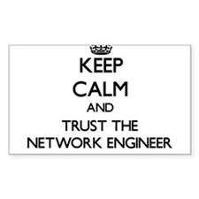 Keep Calm and Trust the Network Engineer Decal