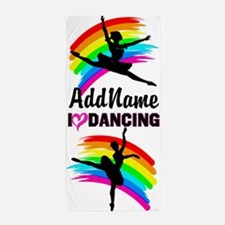Adorable Dancer Beach Towel