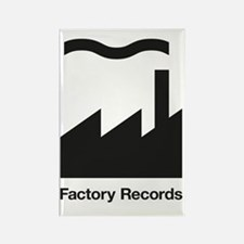 Factory Records Rectangle Magnet
