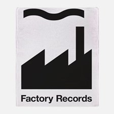 Factory Records Throw Blanket