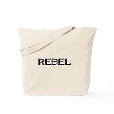 REBEL1_BLK1 Tote Bag