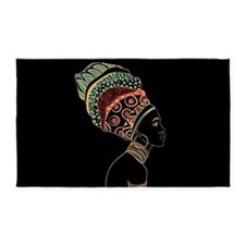 African Woman 3'x5' Area Rug