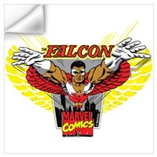 Falcon Badge Wall Art Wall Decal