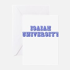 Isaiah University Greeting Cards (Pk of 10)