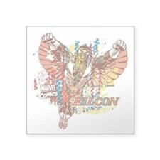 "Falcon Ethnic Mix Square Sticker 3"" x 3"""