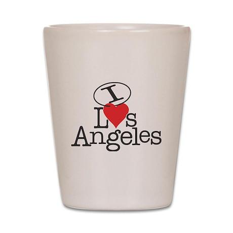 I <3 L<3s Angeles Shot Glass