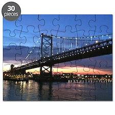 Benjamin Franklin Bridge Puzzle