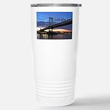 Benjamin Franklin Bridg Stainless Steel Travel Mug