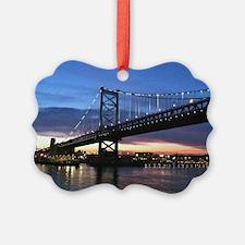Benjamin Franklin Bridge Ornament