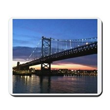 Benjamin Franklin Bridge Mousepad