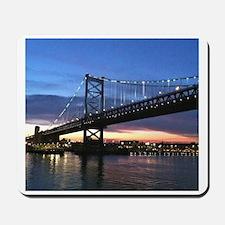 Benjamin Franklin Bridge Mousepad