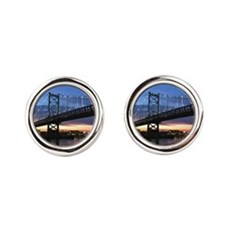 Benjamin Franklin Bridge Cufflinks