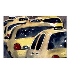 New York City Taxi Postcards (Package of 8)