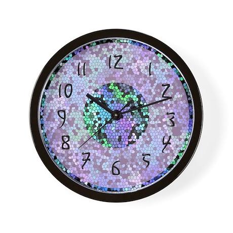 Funky Purple Wall Clock