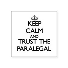 Keep Calm and Trust the Paralegal Sticker