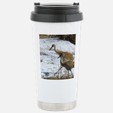 Sandhill Crane Travel Mug
