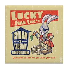 Lucky Jean-Luc's Tile Coaster