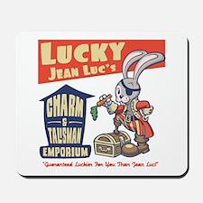 Lucky Jean-Luc's Mousepad