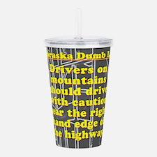 Nebraska Dumb Law 001 Acrylic Double-wall Tumbler