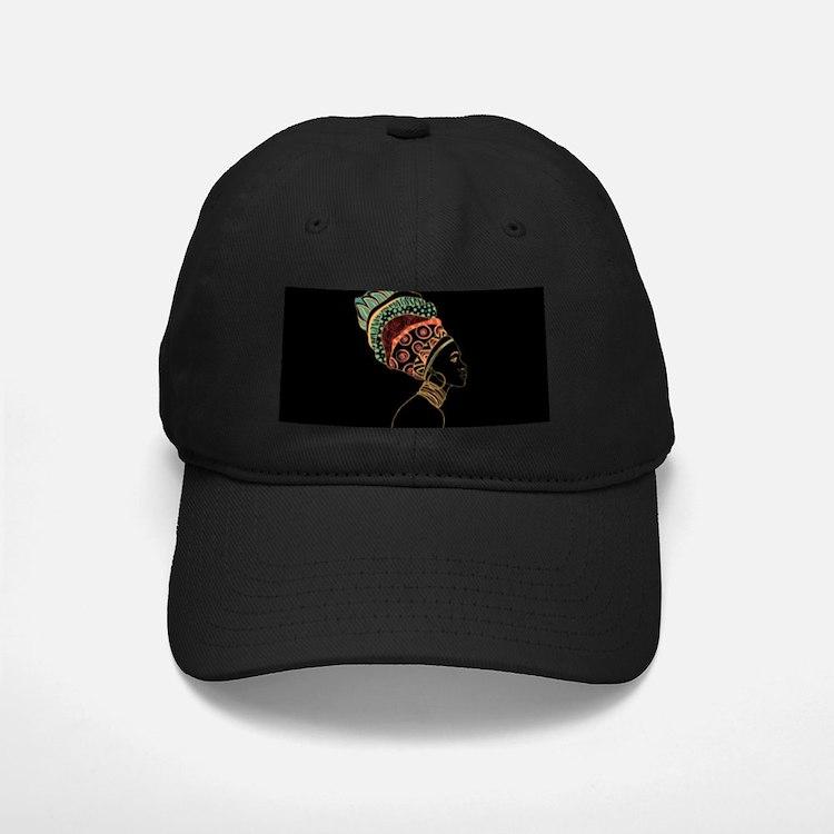African Woman Baseball Hat