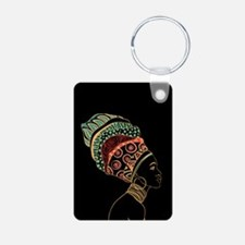 African Woman Keychains