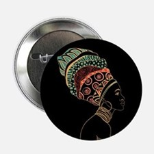 "African Woman 2.25"" Button"